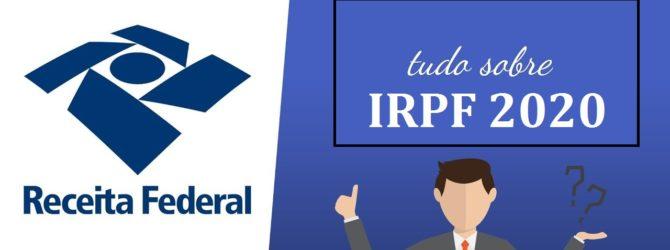 IRPF 2020- INSTRUÇÕES