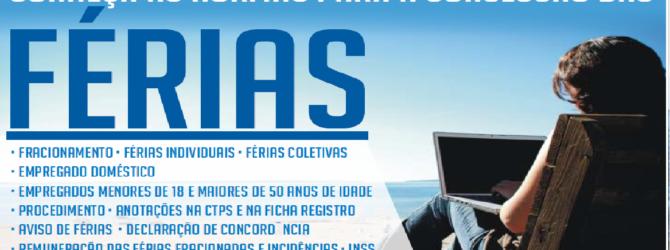 CONCESSÃO DE FERIAS